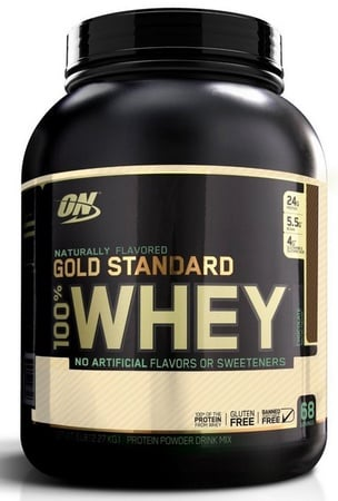 Optimum Nutrition 100% Whey Gold Standard NATURAL Chocolate - 4.8 Lb
