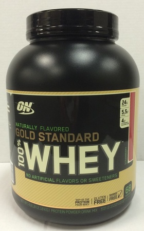 Optimum Nutrition 100% Whey Gold Standard NATURAL Strawberry - 4.8 Lb