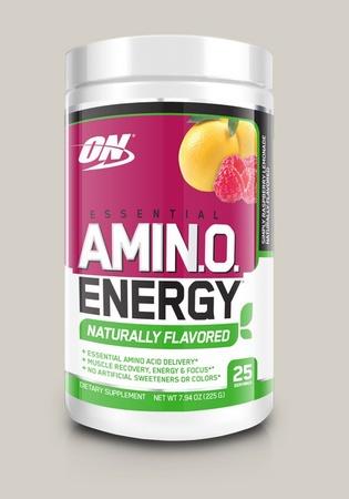 Optimum Nutrition Amino Energy  Natural Raspberry Lemonade - 25 Servings
