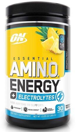 Optimum Nutrition Amino Energy + Electrolytes Pineapple Twist - 30 Servings