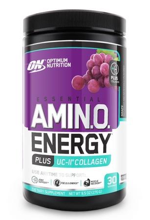 Optimum Nutrition Amino Energy Plus UC-II Collagen Grape - 30 Servings