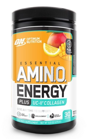 Optimum Nutrition Amino Energy Plus UC-II Collagen Mango Lemonade - 30 Servings