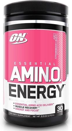 Optimum Nutrition Amino Energy  Strawberry Burst - 30 Servings