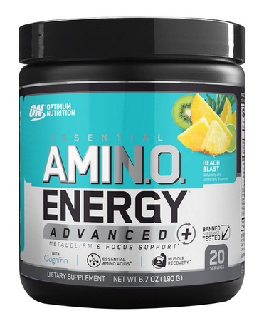 Optimum Nutrition Amino Energy Advanced Beach Blast - 20 Servings