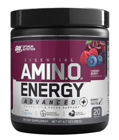 Optimum Nutrition Amino Energy Advanced Cherry Berry - 20 Servings