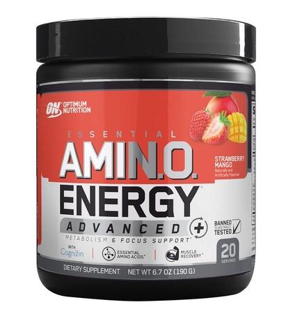 Optimum Nutrition Amino Energy Advanced Strawberry Mango - 20 Servings