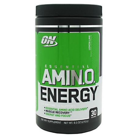 Optimum Nutrition Amino Energy  Lemon Lime - 30 Servings