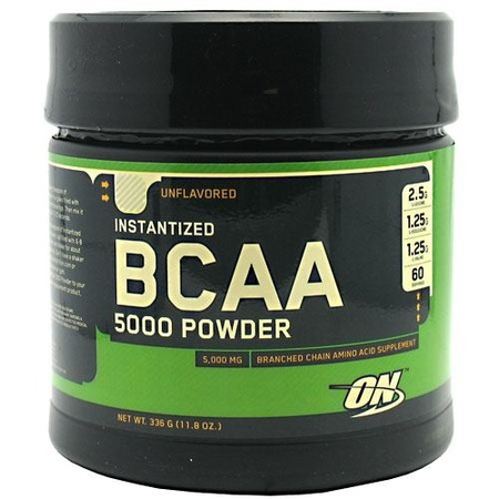 Optimum Nutrition Bcaa 5000 Powder Instantized Unflavored - 60 Servings