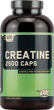 Optimum Nutrition Creatine 2500 Capsules - 300 Caps