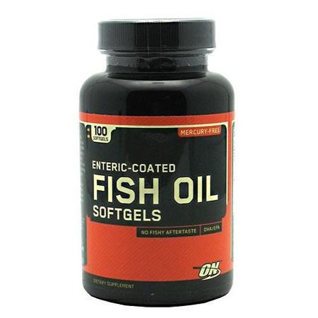 Optimum Nutrition Fish Oil Capsules - 100 Cap