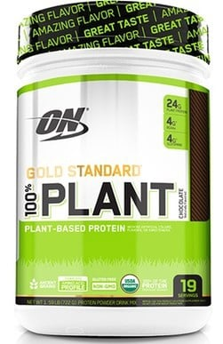 Optimum Nutrition Gold Standard 100% Plant Protein Vanilla - 19 Servings