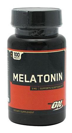 Optimum Nutrition Melatonin 3 Mg - 100 Tablets