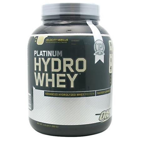 Optimum Nutrition Platinum Hydro Whey Protein Vanilla - 3.5 Lb