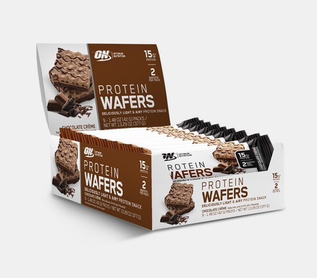 Optimum Nutrition Protein Wafers Chocolate Creme - 9 Bars