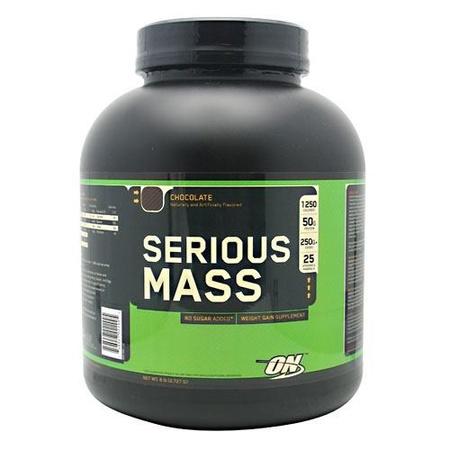 Optimum Nutrition Serious Mass Chocolate - 6 Lb