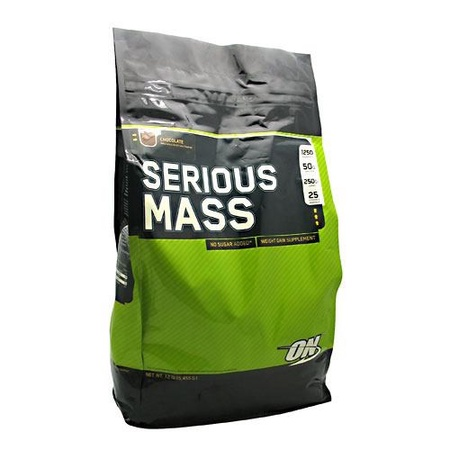 Optimum Nutrition Serious Mass Cookies and Cream - 12 Lb