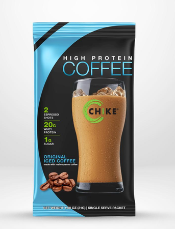 Chike Nutrition High Protein Coffee  Original Iced Coffee - 12 Packets