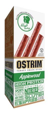 Ostrim Turkey Snack Stick Applewood - 10 Sticks