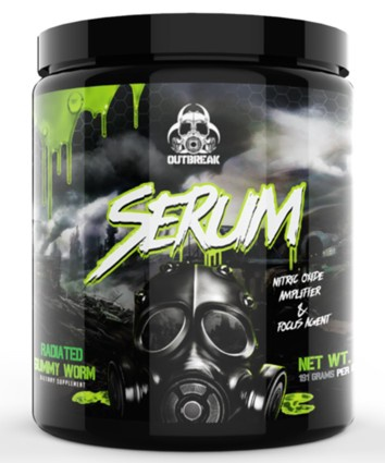 Outbreak Nutrition Serum Gummy Worm - 25 Servings