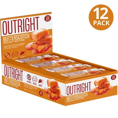 Outright Bar Butterscotch Peanut Butter - 12 Bars  ($24.99 w/coupon DPS10)