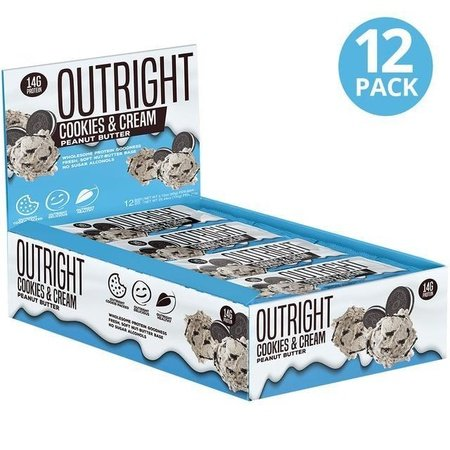 Outright Bar Cookies & Cream Peanut Butter - 12 Bars  ($24.99 w/coupon DPS10)