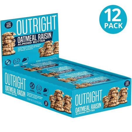 Outright Bar Oatmeal Raisin Almond Butter - 12 Bars  ($24.99 w/coupon DPS10)