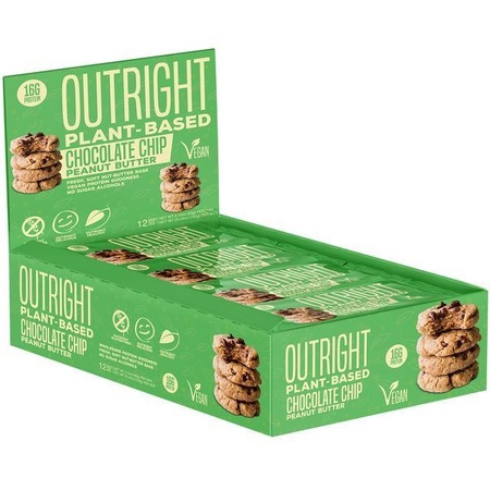 Outright Bar Vegan Friendly Protein Bar Chocolate Chip - 12 Bars  ($27.99 w/coupon DPS10)