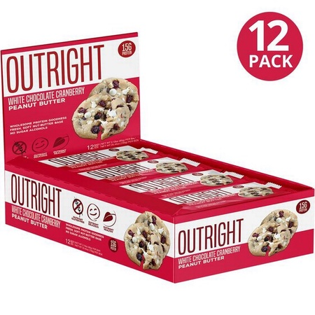 Outright Bar White Chocolate Cranberry Peanut Butter - 12 Bars  ($24.99 w/coupon DPS10)