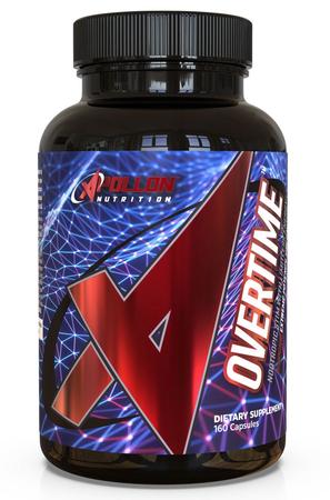 Apollon Nutrition Overtime V3  Energy + Nootropic - 160 Cap