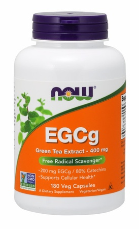 Now Foods EGCG 400 MG Green Tea Extract - 180 VCap