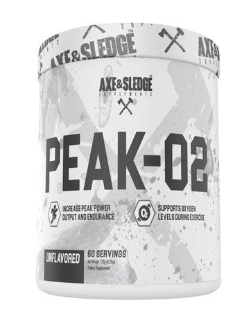 Axe & Sledge PEAK-02  Unflavored - 60 Servings