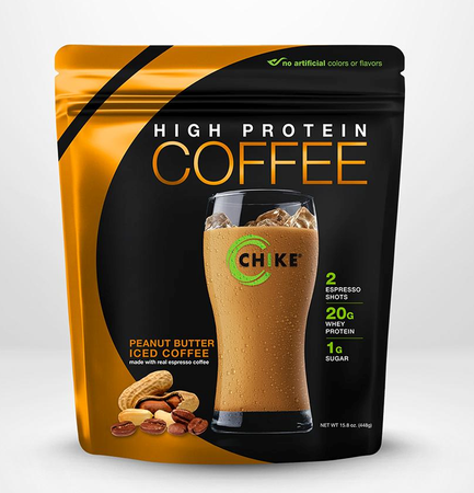 Chike Nutrition High Protein Coffee  Peanut Butter Iced Coffee - 14 Servings