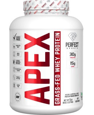 Perfect Sports APEX Grass Fed Whey Vanilla Ice Cream - 5 Lb