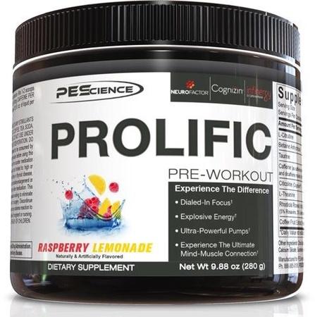 PES Prolific Raspberry Lemonade - 40 Servings