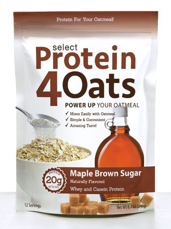 PES Select Protein 4 Oats Maple Brown Sugar - 12 Servings