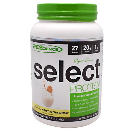 PES Select Vegan Protein Peanut Butter Delight - 27 Servings