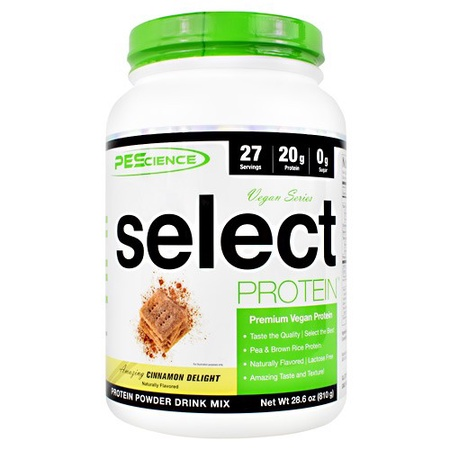 PES Select Vegan Protein Cinnamon Delight - 27 Servings