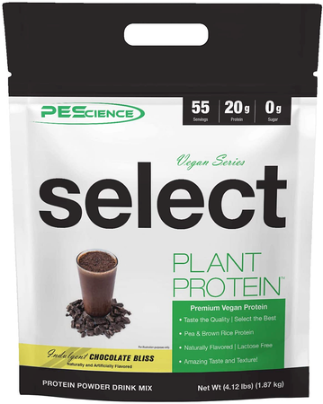 PES Select Vegan Plant Based Protein Peanut Butter Delight - 55 Servings