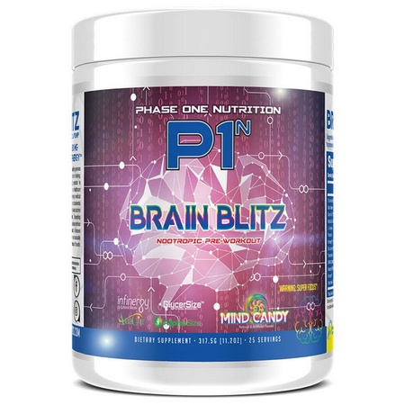 Phase One Nutrition Brain Blitz Mind Candy - 25 Servings