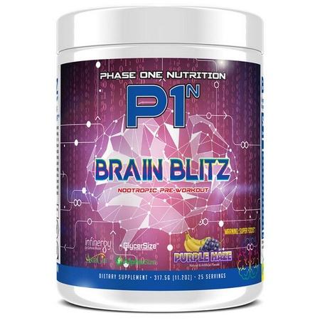 Phase One Nutrition Brain Blitz  Purple Haze - 25 Servings