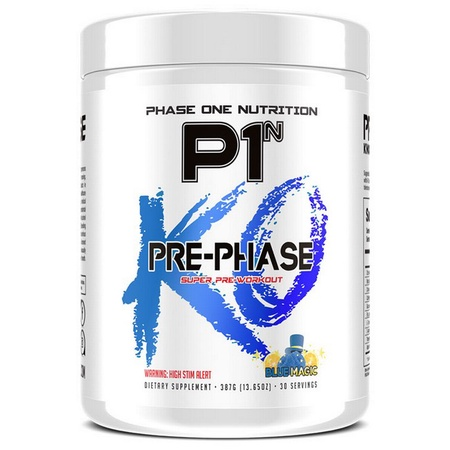 Phase One Nutrition Pre Phase KO Blue Magic - 30 Servings