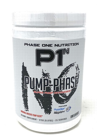 Phase One Nutrition Pump Phase Unflavored - 25 Servings