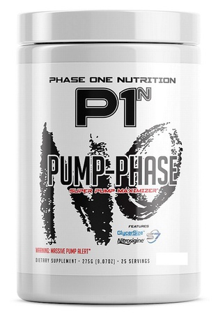 Phase One Nutrition Pump Phase Fruit Punch - 25 Servings