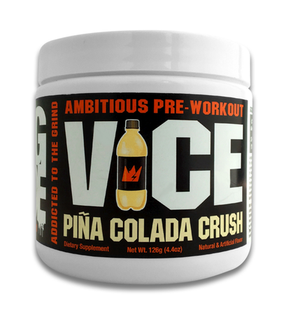 GCode Nutrition VICE Preworkout Pina Colada Crush - 30 Servings