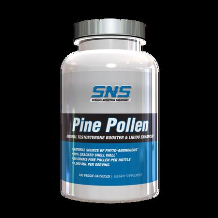 SNS Serious Nutrition Solutions Pine Pollen - 180 Cap