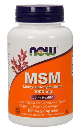 Now Foods MSM 1000 Mg - 120 Cap