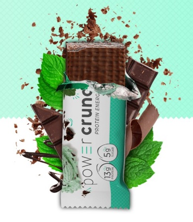 Power Crunch Bar Chocolate Mint - 12 Bars