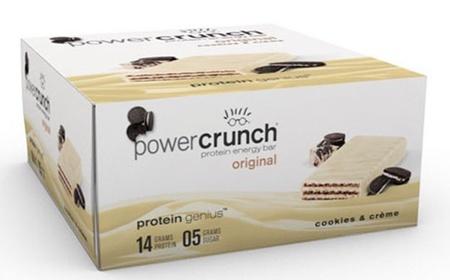 Power Crunch Bar Cookies Cream - 12 Bars