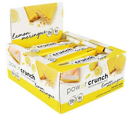 Power Crunch Bar Lemon Meringue - 12 Bars