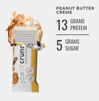 Power Crunch Bar Peanut Butter Creme - 12 Bars